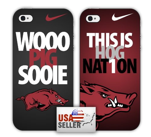 NCAA Arkansas Razorbacks Nike iPhone 4/4S Case Combo Two Pack at Amazon.com