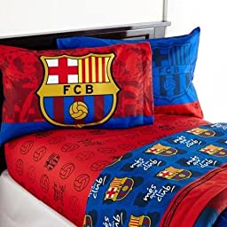 Barcelona \'FCB Soccer\' Sheet Set, TWIN