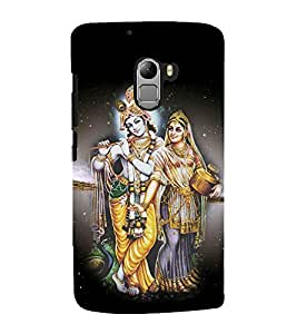 Lord RadhaKrishna Designer Back Case Cover for Lenovo K4 Note