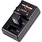 ANSMANN Powerline 2 Akku-Ladegerät für zwei 9V E-Block Akkus