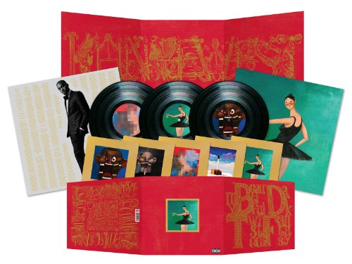 Kanye West - My Beautiful Dark Twisted Fantasy [3 LP] - Zortam Music