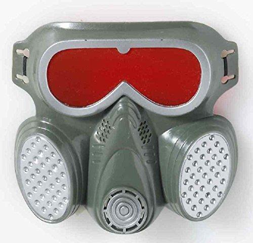 [Zombie Biohazard Mask Gas Radiation Fancy Dress Up Halloween Costume Accessory] (Biohazard Costumes)