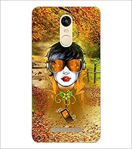 PrintDhaba Abstract Design D-3043 Back Case Cover for XIAOMI REDMI NOTE 3 (Multi-Coloured)