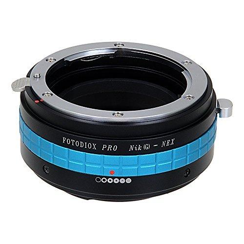 Fotodiox Pro Adaptateur de monture d'objectif pour Objectif Nikon G -D Type  à Caméra Sony E mount comme Sony Alpha a7/ a7II/ NEX-5/ NEX-7