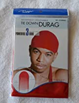Red DuRag Hat - Tie down Du-Rag Hair Cap