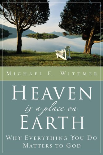 Heaven is a Place on Earth front cover