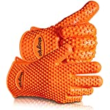 Ekogrips Highest Heat Resistant Silicone BBQ Grill Oven Gloves - Newest Design - 3 Sizes Available