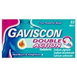 Gaviscon Double Action Tablets 32 Mint