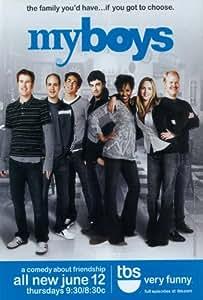 My Boys (TV) Poster (11 x 17 Inches - 28cm x 44cm) (2006) Style A -(Jordana Spiro)(Kyle Howard)(Reid Scott)(Jamie Kaler)(Michael Bunin)(Kellee Stewart)