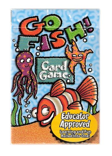 Go Fish Family Educational Card Game - Juego de Naipes Educacionales - 1
