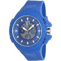 Armani Exchange Blue Active Analog Digital Mens Watch AX1282