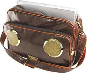 Fi Hi Master G Stereo Bag with Laptop, Milk Chocolate