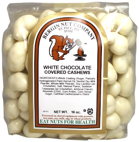 Bergin Nut Company Creamy White Chocolate Cashew,