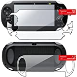 Insten 2 packs of Reusable Screen Protectors Compatible With Sony PlayStation Vita PCH-1000 (PS Vita)