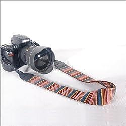 Caden Quality Multi Colour Support DSLR Camera Neck Strap