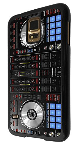1061 - cool fun dj mixer turntable vintage retro music dance clubber rnb hip hip rave club Design For Samsung Galaxy S5 Mini Fashion Trend CASE Back COVER Plastic&Thin Metal - Black