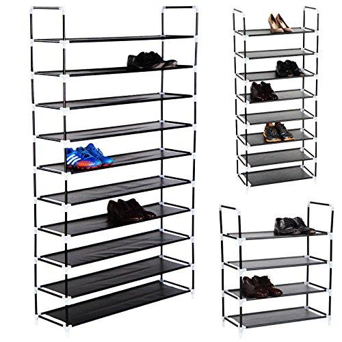 Erweiterbares-Schuhregal-Schuhschrank-je-nach-Wahl-fr-bis-zu-20-40-oder-50-Paar-Schuhe