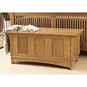 Mission Style Blanket Chest Plans