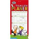 Snoopy Familienplaner 2014: Mit Schulferien. 5 Spalten