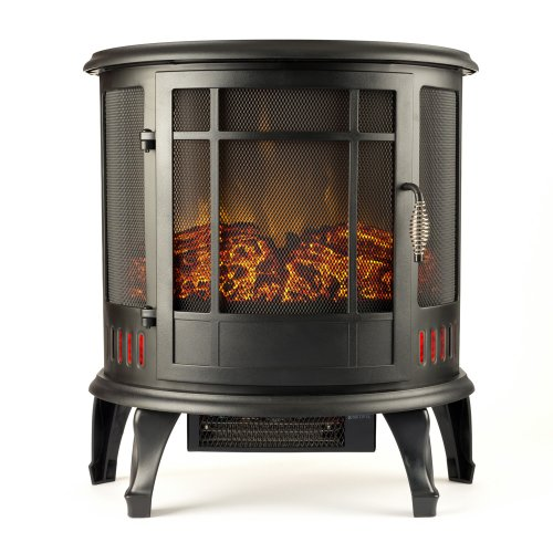 "Best Prices! Regal Electric Fireplace - e-Flame USA 22"" Portable Electric Fireplace with 1500W ..."
