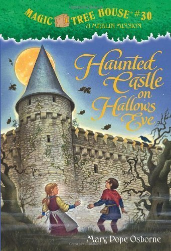 Magic Tree House #30: Haunted Castle on Hallows Eve by Mary Pope Osborne (July 27 2010), aa