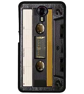 ColourCraft Retro Audio Cassette Design Back Case Cover for MICROMAX CANVAS XPRESS 2 E313