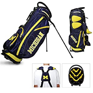 Brand New Michigan Wolverines NCAA Stand Bag - 14 way by Things for You