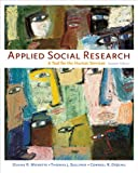 Applied Social Research: A Tool for Human Services (with InfoTrac)