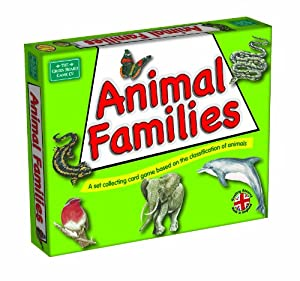 Animal Families from Green Board Games