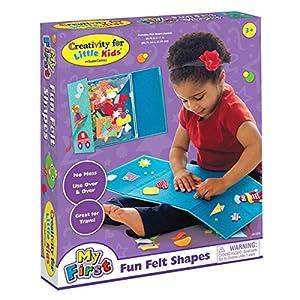 Amazon Com Creativity For Kids My First Fun Felt Shapes