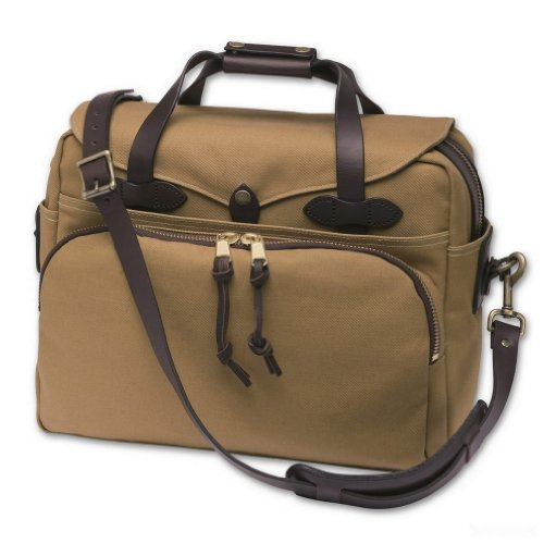 Filson Padded Laptop Bag/Briefcase (Desert Tan)