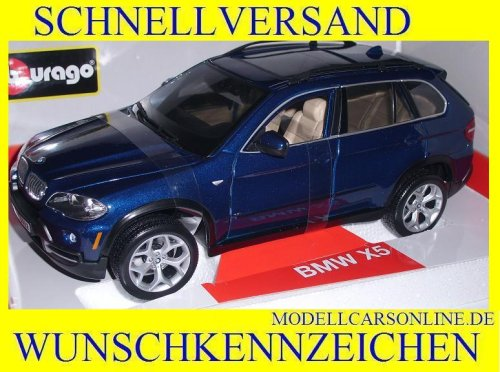 BBurago 18-11020 - Diamond Collezione 1:18 BMW X5 silber