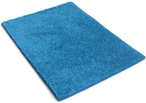 Bright color area rug 5 39 x 8 39 crazy blue area rugs for Bright blue area rug