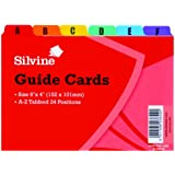 Silvine  6 x 4 inch Guide Cards