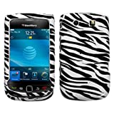 Zebra Skin Design Snap-On Case for BlackBerry Torch 9800