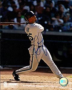 Autographed Hand Signed 8x10 Photo Derek Lee Florida Marlins by Hall of Fame Memorabilia