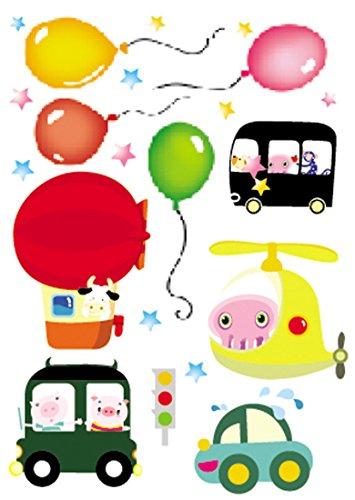 Damara Balloon Fairy Tale Wall Stickers Art Children Room Decor