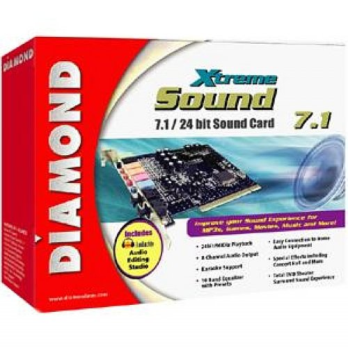 Diamond XtremeSound PCI 7.1 Channels 16 bit Sound