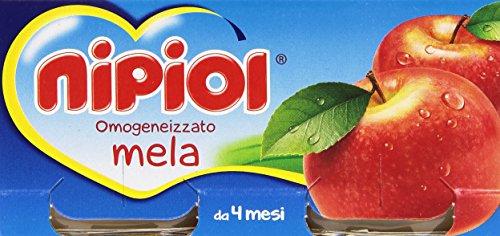 Nipiol - Omogeneizzato, Mela, senza glutine, da 4 mese - 160 g