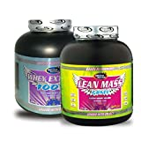 Whey Extreme 100% 1kg Chocolate& Lean Mass Gainer 3KG Chocolate Combo Offer