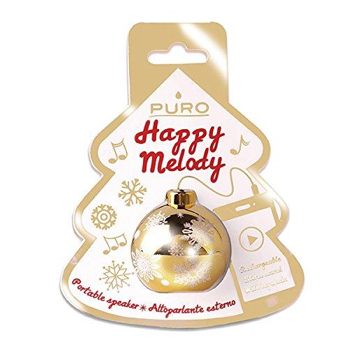 Puro Happy Melody Christmas BALL Attive Minispeaker