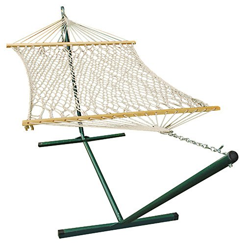 Rope Hammock & Stand Set