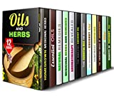 img - for Oils and Herbs Box Set (12 in 1): Homegrown Medicinal Herbs and Remedies Plus Wonder of Essential Oils (DIY Beauty Products) book / textbook / text book