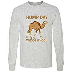 HUMP DAY whoo whoo Long Sleeve T-Shirt