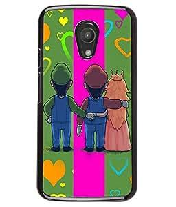 Fuson 2D Printed Love Designer back case cover for Motorola Moto G2 2nd Gen. - D4138