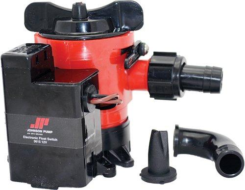 Johnson Pump Cartridge Combo 1000GPH Auto Bilge Pump w/Switch - 12V primary