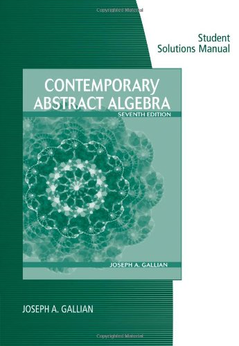Instructors Solutions Manual to Abstract Algebra