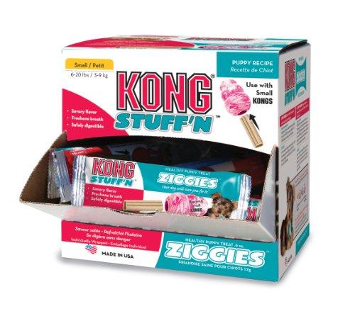 Kong Puppy Stuff'N Ziggies Cube Small Dog Treat, 51.7-Ounce, 75-Pack