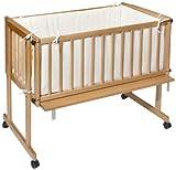 Easy Baby 160-21 Dream & Drive - Cuna con colchón y cojín protector, color beige