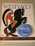 Circa 1930s Westvaco Inspirations for Printers #68:Indian on Horse - Cadillac Ad